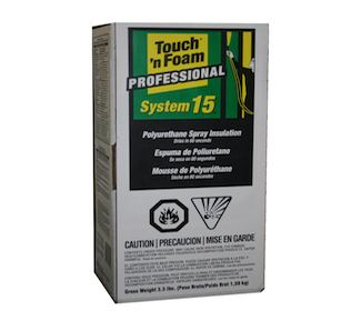 Touch and Foam Spray Foam Insulation Kit